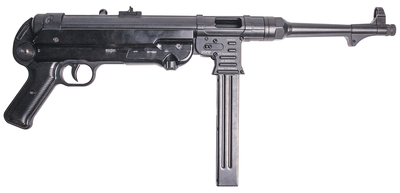 GSG German Sports Guns GERGMP409X MP-40 Pistol Semi-Automatic 9mm Luger 10.8 25+1 Black in.