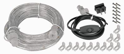 Lockdown 222020 Vault Lighting Kit Clear Tube w/White LEDs 12ft