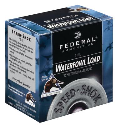 Federal WF107BBB Speed-Shok 10 Gauge 3.5in. 1 1/2 oz BBB Shot 25 Bx/ 10 Cs
