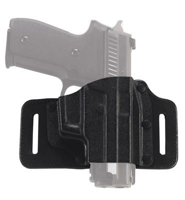 Galco Tac Slide Belt Holster RUGER - SR40, Black, RH TS484B