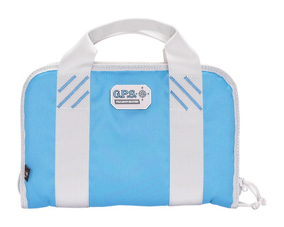 G Outdoors Double Pistol Case,Robin Egg Blue