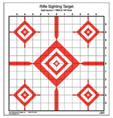 Action Target TGT RIFLE SIGHTING 100PK