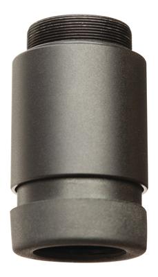 LUCID OPTICS 2x Magnifier, 2oz, Threaded for HD7 Red Dot, Black L-2X