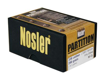 Nosler 35644 PARTN 338 250 SPTZR 50