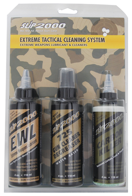 SLIP 2000 (SPS MARKETING) 60387 Extreme Tactical Cleaning System 4 oz Bottles