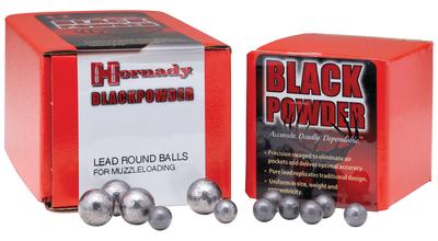 Hornady 6120 Lead Balls 58 Black Powder Lead Balls 228 gr 50 PK