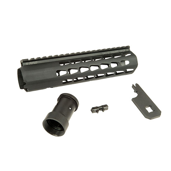 Advanced Armament 64272 Squaredrop Handguard AR-15 8 Aluminum Black Anodized in.