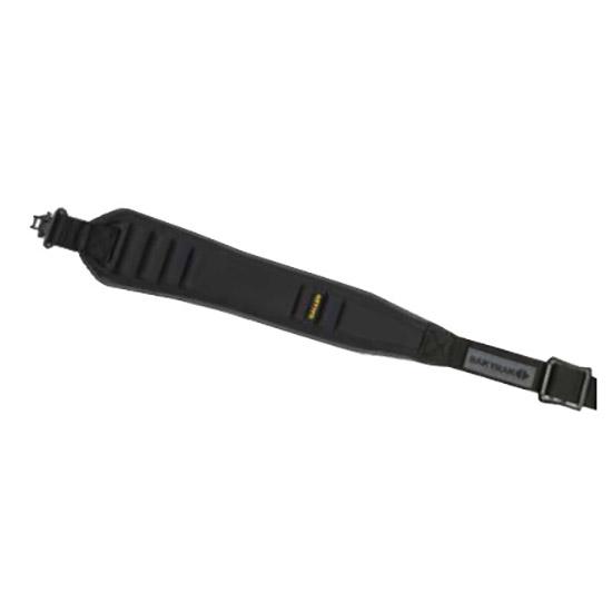 Allen 8342 BakTrak Glen Eagle Rifle Sling 1 Swivel Size 1.25 in.  Wide Neoprene Nylon Black in.