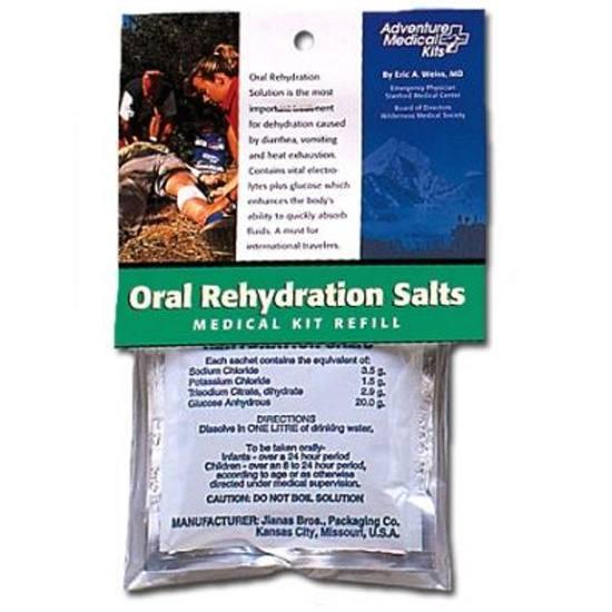 Adventure Medical Kits 0155-0650 Oral Rehydrating Salt