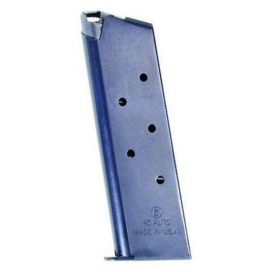 Kahr Arms G21B Auto-Ordnance 1911 Non-Removable Baseplate 45 Automatic Colt Pistol (ACP) 7 rd 1911 Steel Blued Finish