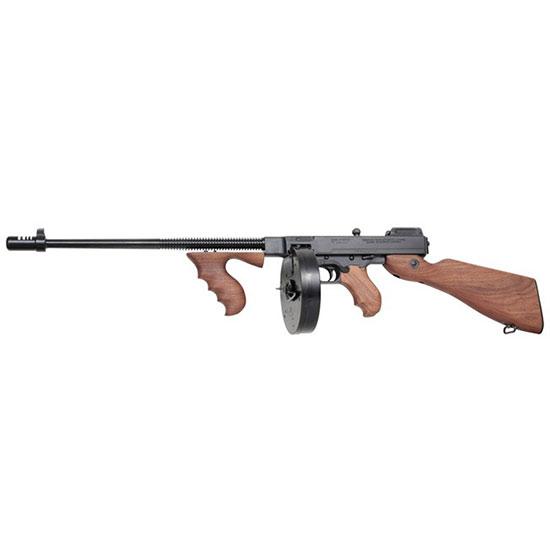 Thompson T5100D 1927A-1  Semi-Automatic 45 Automatic Colt Pistol (ACP) 16.5 20+1|100+1 American Walnut Stk Blued in.