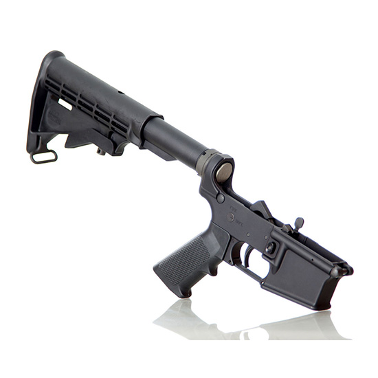 Alex Pro Firearms Complete AR15 Assembled Lower Black With 6 Position Stock LP013