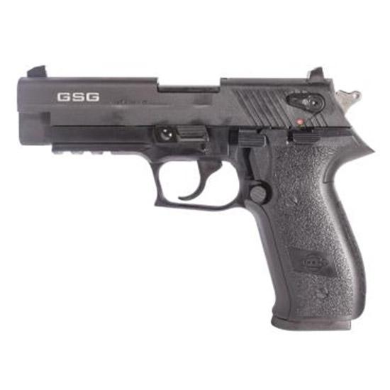 GSG German Sports Guns GERG2210FF FireFly Single|Double 22 Long Rifle (LR) 4 10+1 Black Polymer Grip Black Zinc Alloy in.