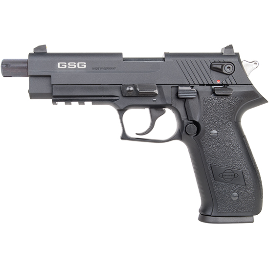 GSG German Sports Guns GERG2210TFF FireFly Single|Double 22 Long Rifle 4.9 TB 10+1 Black Polymer Grip Black Zinc Alloy in.