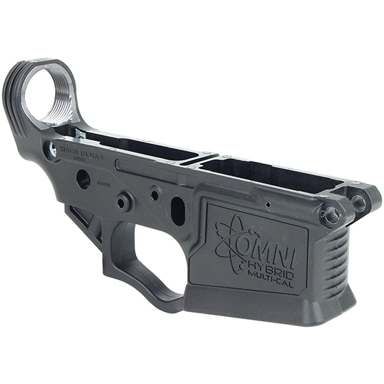 American Tactical Imports Omni Hybrid Stripped AR-15 Lower Receiver Multi-Caliber Reinforced Polymer