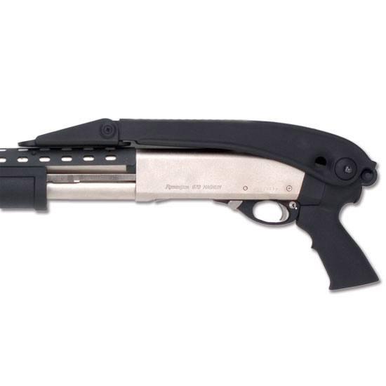 Advanced Technology TFS0600 Shotforce Mossberg 500|590 Shotgun Glass Reinforced Polymer Black