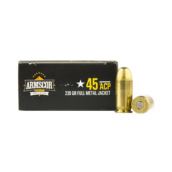 Armscor JHP 230 Grain Brass .45 ACP 20Rds