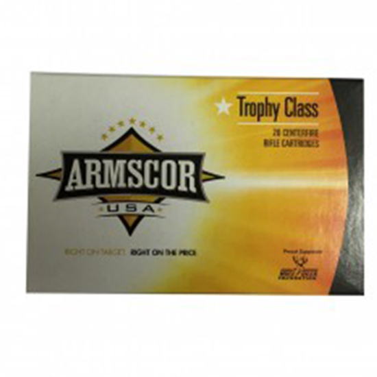 Armscor 165Gr Accubond Brass .30-06 20Rds