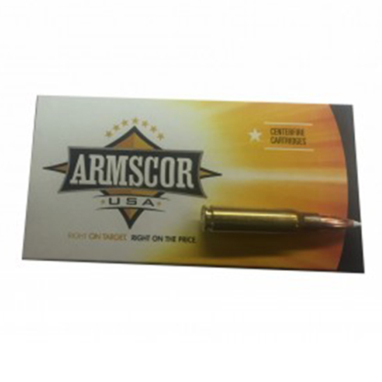 Armscor 165Gr Accubond Brass .308 Win 20Rds