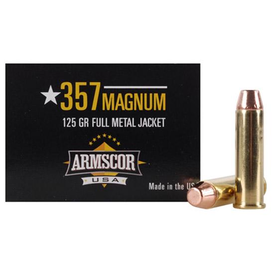Armscor Ammo USA .357 Mag 125GR FMJ 50Rds