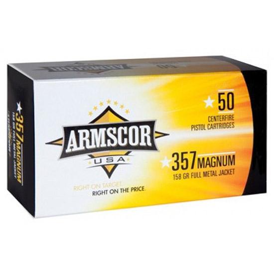 Armscor USA .357 Mag 158GR FMJ 50Rds