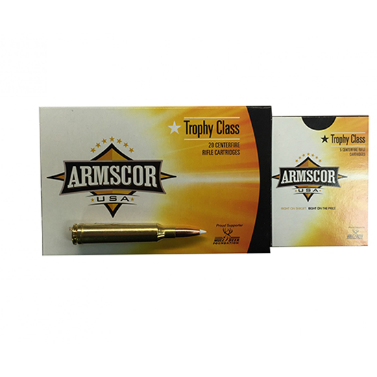 Armscor 160Gr Accubond Trophy Class Brass 7mm 20Rds