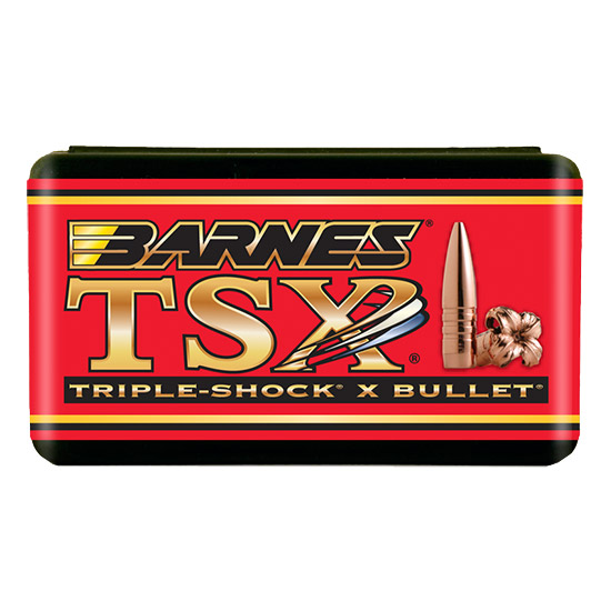 Barnes Bullets 30222 Rifle 25 Caliber .257 100 GR TSX BT 50 Box