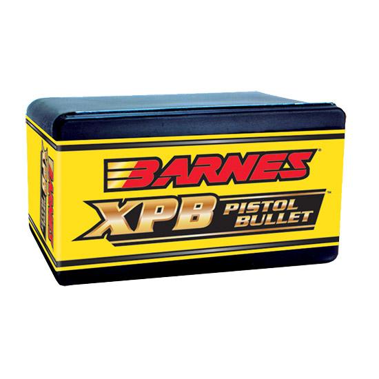 Barnes Bullets 30562 XPB Pistol 460 S&W .451 250 GR 20 Per Box