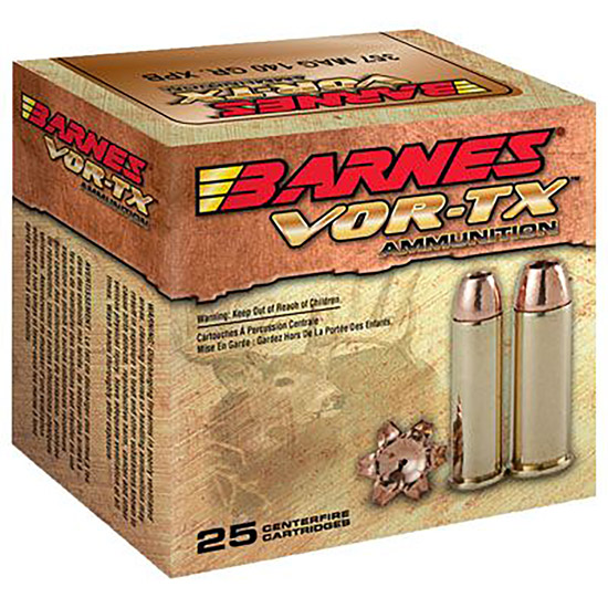 Barnes 31180 VOR-TX Handgun Hunting 10mm 155 GR XPB 20Bx|10Cs