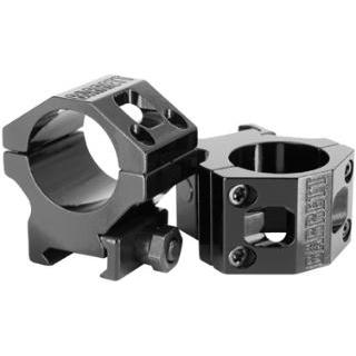 Barrett 13323 Zero-Gap Ring Set 30mm Dia 1.3 Black in.