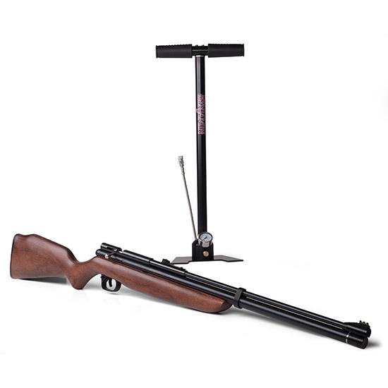 Benjamin BP9M22GP Dual Fuel Air Rifle CO2 Bolt .22 Black