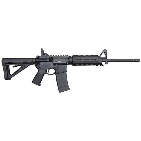 Bushmaster 90291 XM-15 Carbine Semi-Automatic 223 Remington|5.56 NATO 16 30+1 Magpul MOE Black Stk Black in.