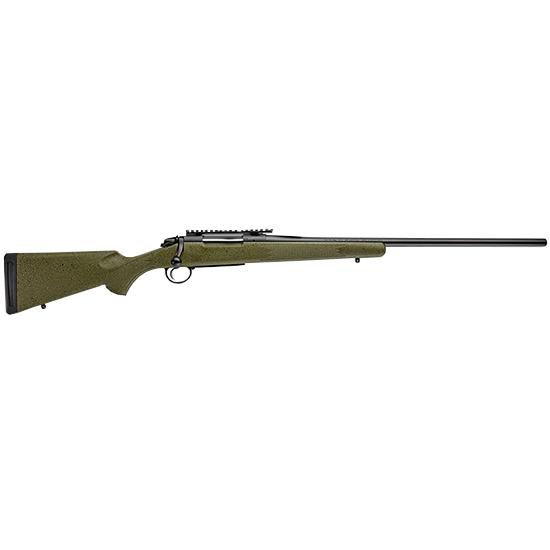 Bergara Rifles B14LM102 B-14 Hunter Bolt 7mm Remington Magnum 24 2+1 Synthetic Green Stock Blued in.