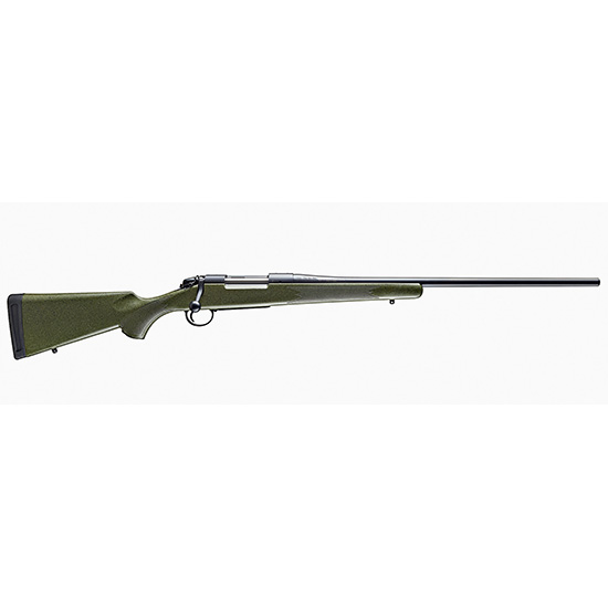 Bergara Rifles B14S101 B-14 Hunter Bolt 308 Winchester|7.62 NATO 22 4+1 Synthetic Green Stock Blued in.