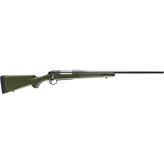 Bergara Rifles B14S104 B-14 Hunter Bolt 22-250 Remington 22 4+1 Synthetic Green Stk Blued in.