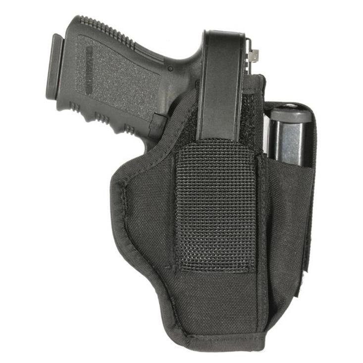 Blackhawk 40AM01BK Ambi Sz 01 w|Mag Pouch Fits Belts to 1.75 Black Nylon in.