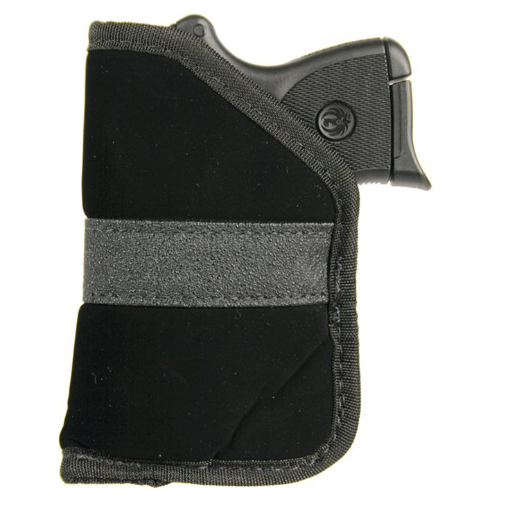 Blackhawk 40PP01BK Inside The Pocket Holster 22|25 Small Autos Nylon Black