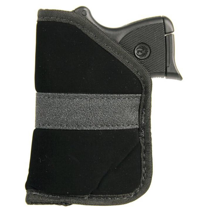 Blackhawk 40PP04BK Inside The Pocket Holster 9mm|40Cal Sub-Compact Semi-Auto, Most Nylon Black