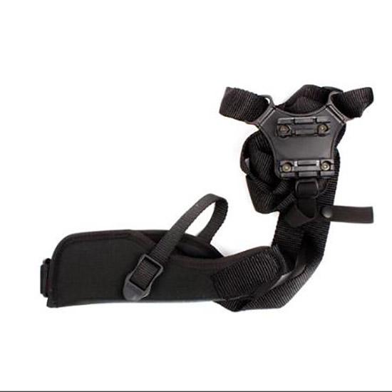 Blackhawk 40VH02BKR Vertical Shoulder Holster 40VH02BKR Adjustable Black Cordura
