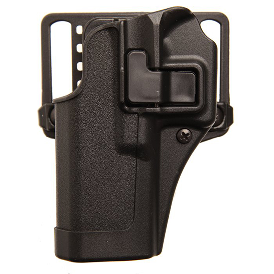 Blackhawk 410500BKL Serpa CQC Concealment Matte Sz 0 Glock 17|22|31 Polymer Black