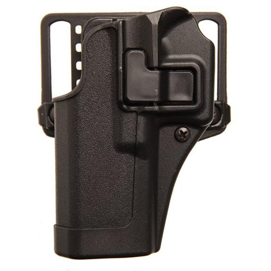 Blackhawk 410501BKL Serpa CQC Concealment Matte Sz 01 Glock 23|26|27 Polymer Black