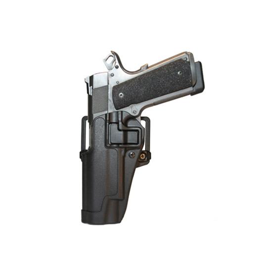 Blackhawk 410503BKL Serpa CQC Concealment Matte Sz 03 1911 Government  & Clones w|wo Rail Polymer Black