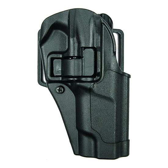 Blackhawk 410511BKR Serpa CQC Concealment RH Matte Finish 11 Ruger P85|89 Polymer Black