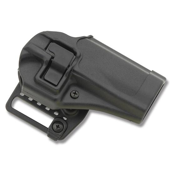 Blackhawk 410513BKR Serpa CQC Concealment Glock 20|21|37 Polymer Black
