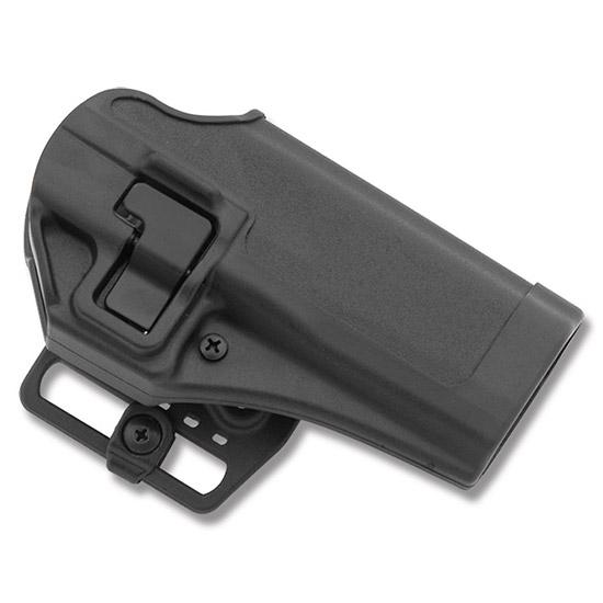 Blackhawk 410519BKR Serpa CQC Concealment RH Matte Finish 19 Taurus 24|7 Polymer Black