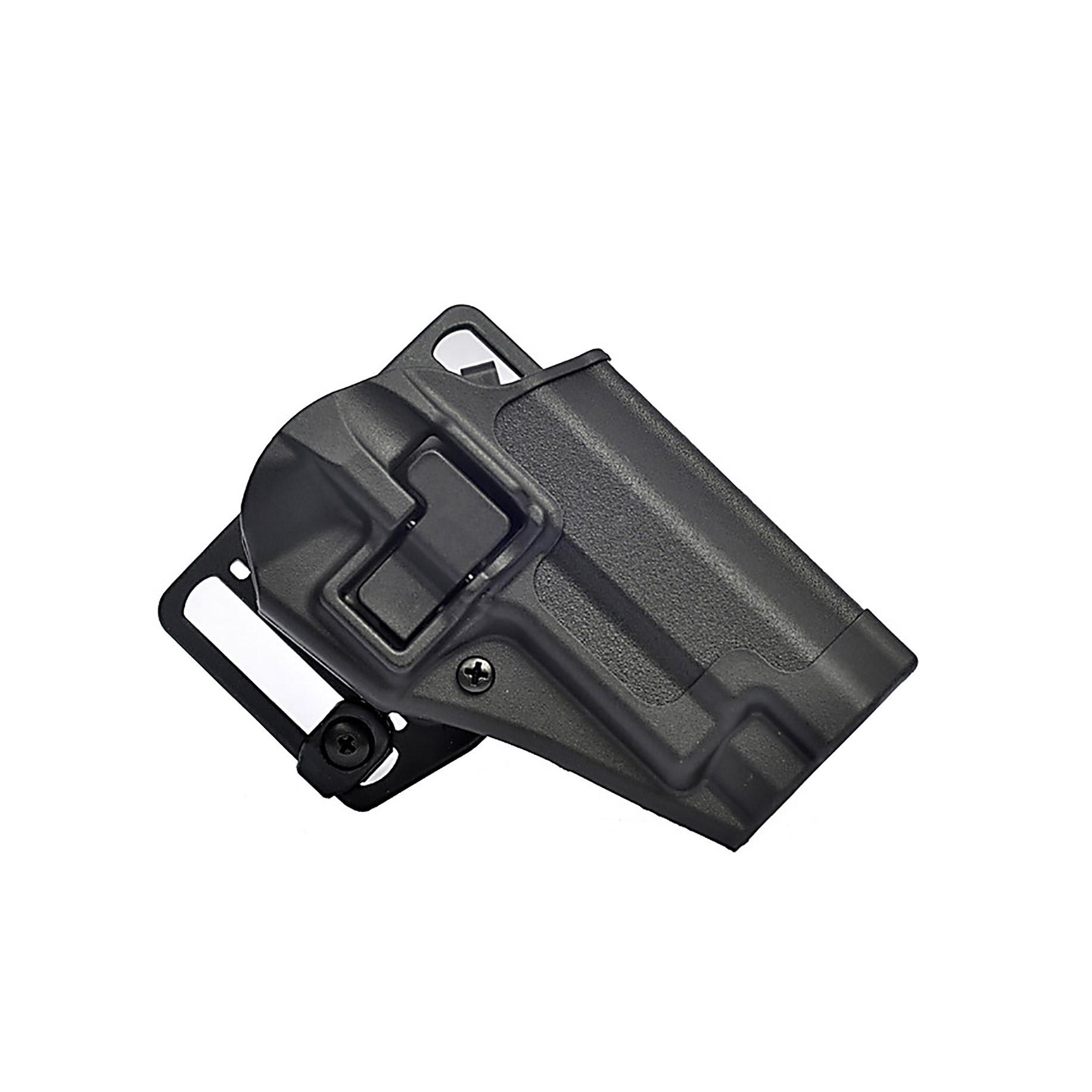 Blackhawk 410520BKR Serpa CQC Concealment 2 S&W J-Frame Polymer Black in.