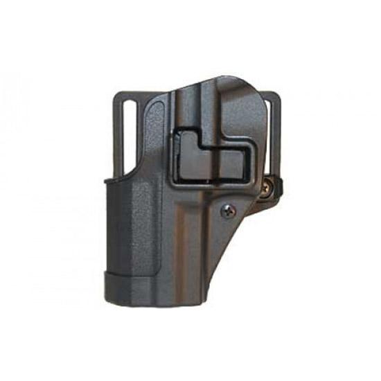 Blackhawk 410525BKL Serpa CQC Concealment LH Matte Finish 25 S&W M&P Polymer Black