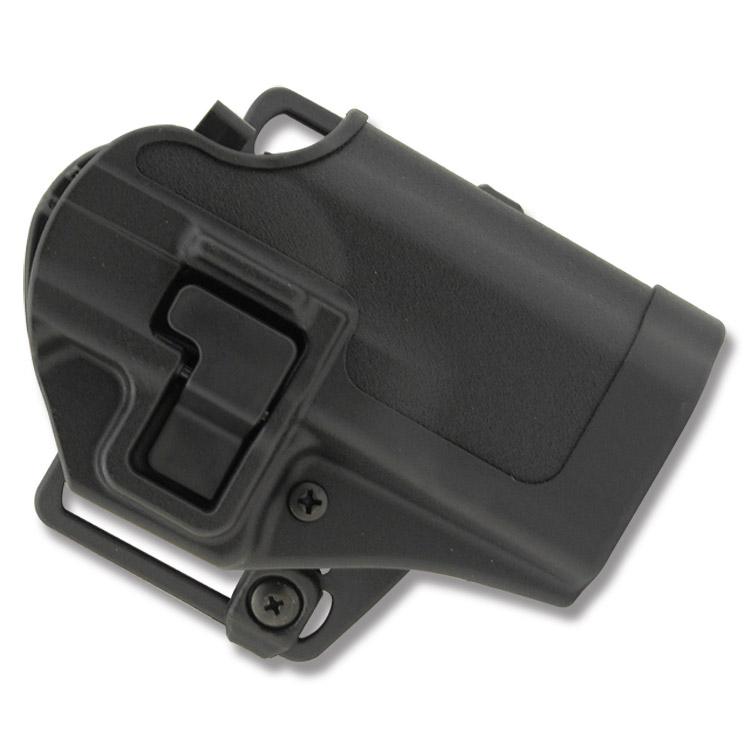 Blackhawk 410529BKR Serpa CQC Concealment Taurus 24|7 Polymer Black