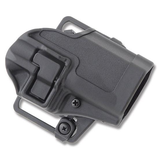 Blackhawk 410530BKR Serpa CQC Concealment RH Matte Finish 0 Glock 29|30|39 Polymer Black