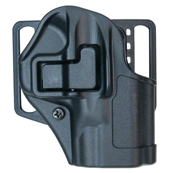 Blackhawk 410563BKR Serpa CQC Concealment  S&W M&P Shield 9|40 Polymer Black
